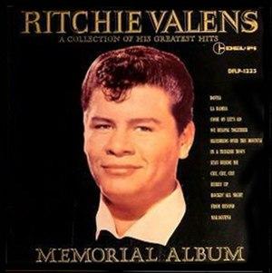 Ritchie Valens Memorial Album - Image: Ritchie Valens Memorial Album