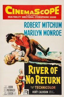 <i>River of No Return</i> 1954 film by Otto Preminger