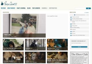 <i>RogerEbert.com</i> film review website