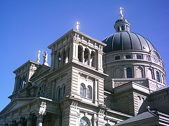 Lincoln Village, Milwaukee - The dome of the Basilica of St. Josaphat.