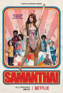 <i>Samantha!</i> 2018 Brazilian Netflix original comedy series
