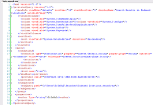 Virtual folder - Image: Search ms