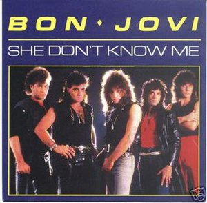 She Don't Know Me - Image: She Don't Know Me