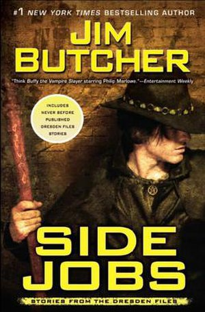 The Dresden Files short fiction - Image: Side jobs by jim butcher