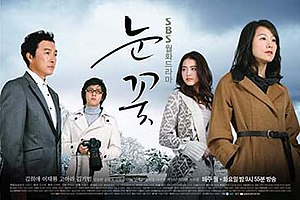 Snow Flower (TV series) - Promotional poster