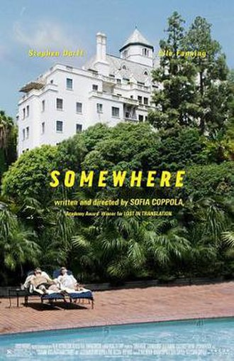 Somewhere (film) - Theatrical release poster