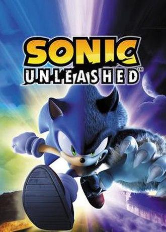 Sonic Unleashed - Image: Sonic unleashed boxart