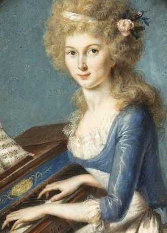 Éleuthère Irénée du Pont - Du Pont's wife, Sophie Madeleine Dalmas du Pont