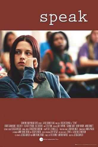 Speak (film) - Film poster