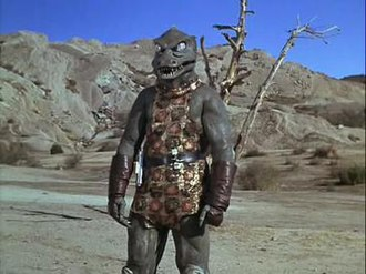 "Gorn - The Gorn whom Captain Kirk fought in ""Arena"""