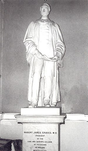 Robert James Graves - Image: Statue of graves