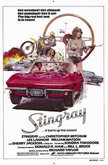 Stingray movie poster 1978.jpg
