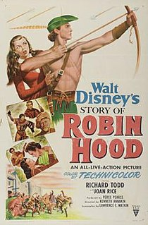 <i>The Story of Robin Hood</i> (film) 1952 film by Ken Annakin