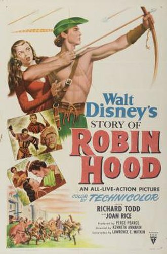 The Story of Robin Hood and His Merrie Men - Theatrical release poster
