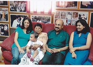 Sumanadasa Abeygunawardena - Mr.Sumanadasa Abeygunawardena's Family