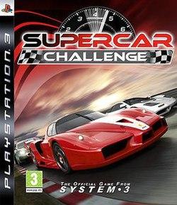 Supercar Challenge Box Art