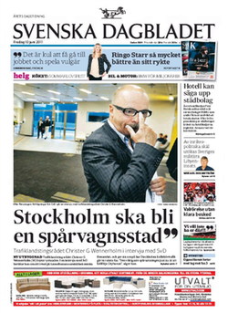 svenska dagbladet in english