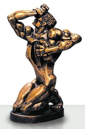 TEFI - A TEFI statuette by Ernst Neizvestny.