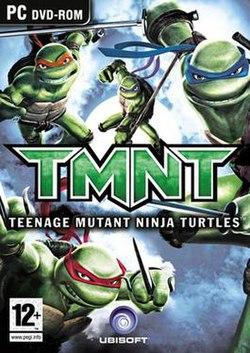 لعبه سلاحف النينجا TMNT2007علي الـZ SHARE 250px-TMNT_Box_Art