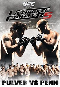 A poster or logo for The Ultimate Fighter: Team Pulver vs. Team Penn Finale.