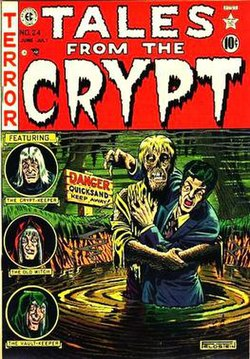 Horror Comic Book