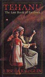 <i>Tehanu</i> 1990 fantasy novel by Ursula K. Le Guin