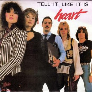Tell It Like It Is (song) - Image: Tell It Like It Is Heart