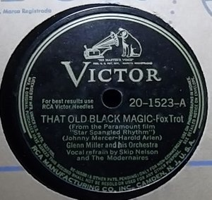 That Old Black Magic - Image: That Old Black Magic Glenn Miller RCA