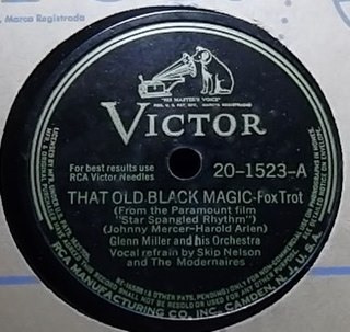 That Old Black Magic 1942 popular song