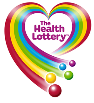 The Health Lottery - Image: The health lottery logo