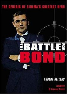 <i>The Battle for Bond</i> Book by Robert Sellers