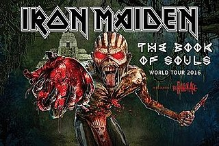 The Book of Souls World Tour 2016–2017 concert tour by Iron Maiden