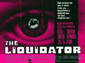 The Liquidator (1965 film) - Original UK quad cinema poster featuring Richard Willams artwork