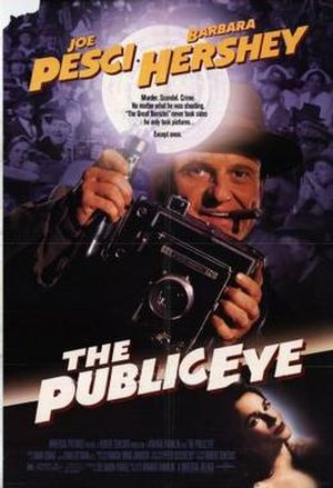 The Public Eye (film) - Theatrical release poster