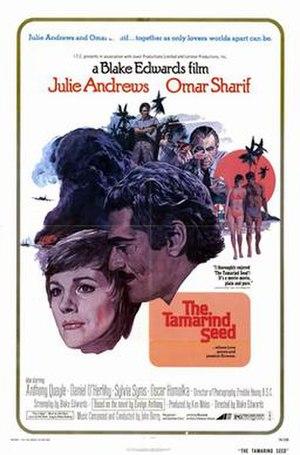 The Tamarind Seed - Image: The Tamarind Seed Film Poster