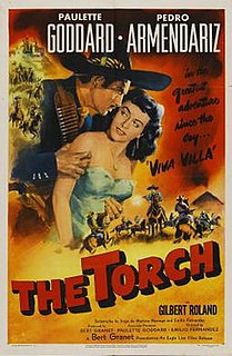 <i>The Torch</i> (film) 1950 Mexican / American film directed by Emilio Fernández