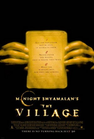The Village (2004 film) - Theatrical release poster