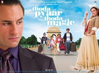<i>Thoda Pyaar Thoda Magic</i> 2008 Indian film