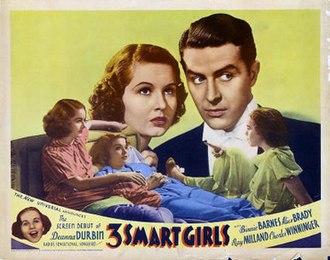 Three Smart Girls - Image: Three Smart Girls Poster