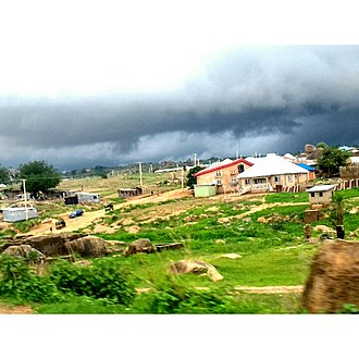 Jos - Image: Tudun Wada, View from Jos City