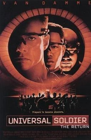 Universal Soldier: The Return - Original 1999 theatrical poster