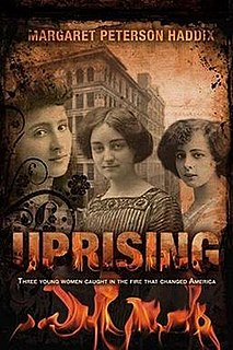 <i>Uprising</i> (novel) book by Margaret Peterson Haddix
