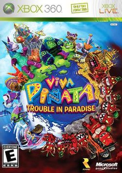 Viva pi ata trouble in paradise wikipedia for Viva pinata garden designs