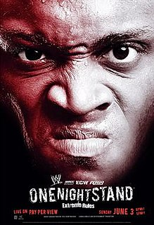 One Night Stand (2007) 2007 World Wrestling Entertainment pay-per-view event