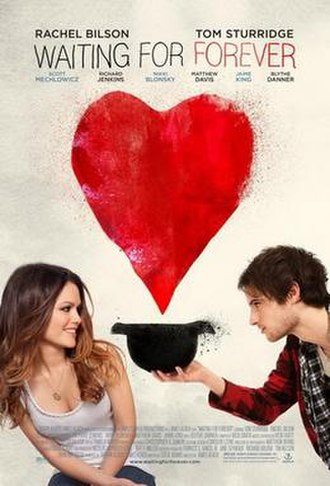 Waiting for Forever - Theatrical release poster