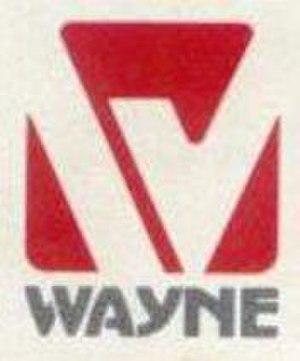Wayne Corporation - Image: Wayne Buslogo 1980s