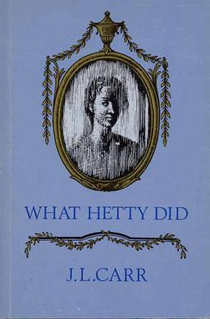 What Hetty Did - Cover of first edition - 1988