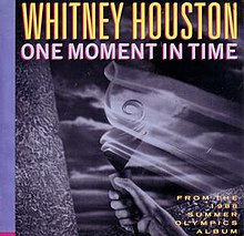 a musica one moment in time whitney houston