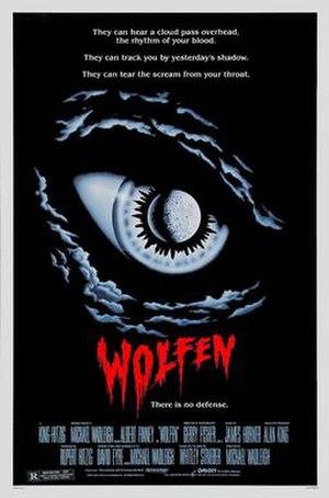 Wolfen (film) - Original 1981 film poster