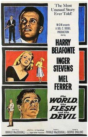 The World, the Flesh and the Devil (1959 film) - Theatrical release poster